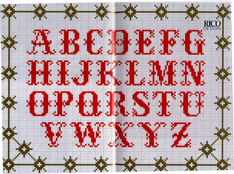 Вышивка схема алфавита скачать бесплатно