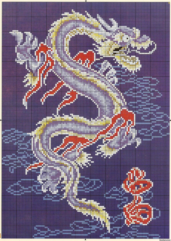 Китайские схемы бисером