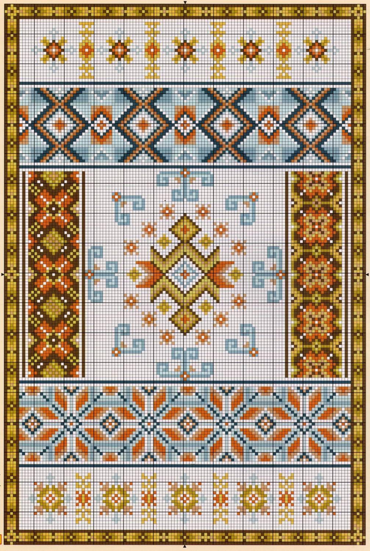 Орнамент для вышивки крестом схемы официальный сайт