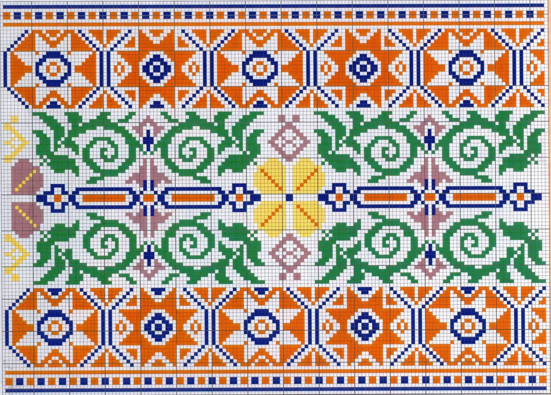Орнамент украинской вышивки 39
