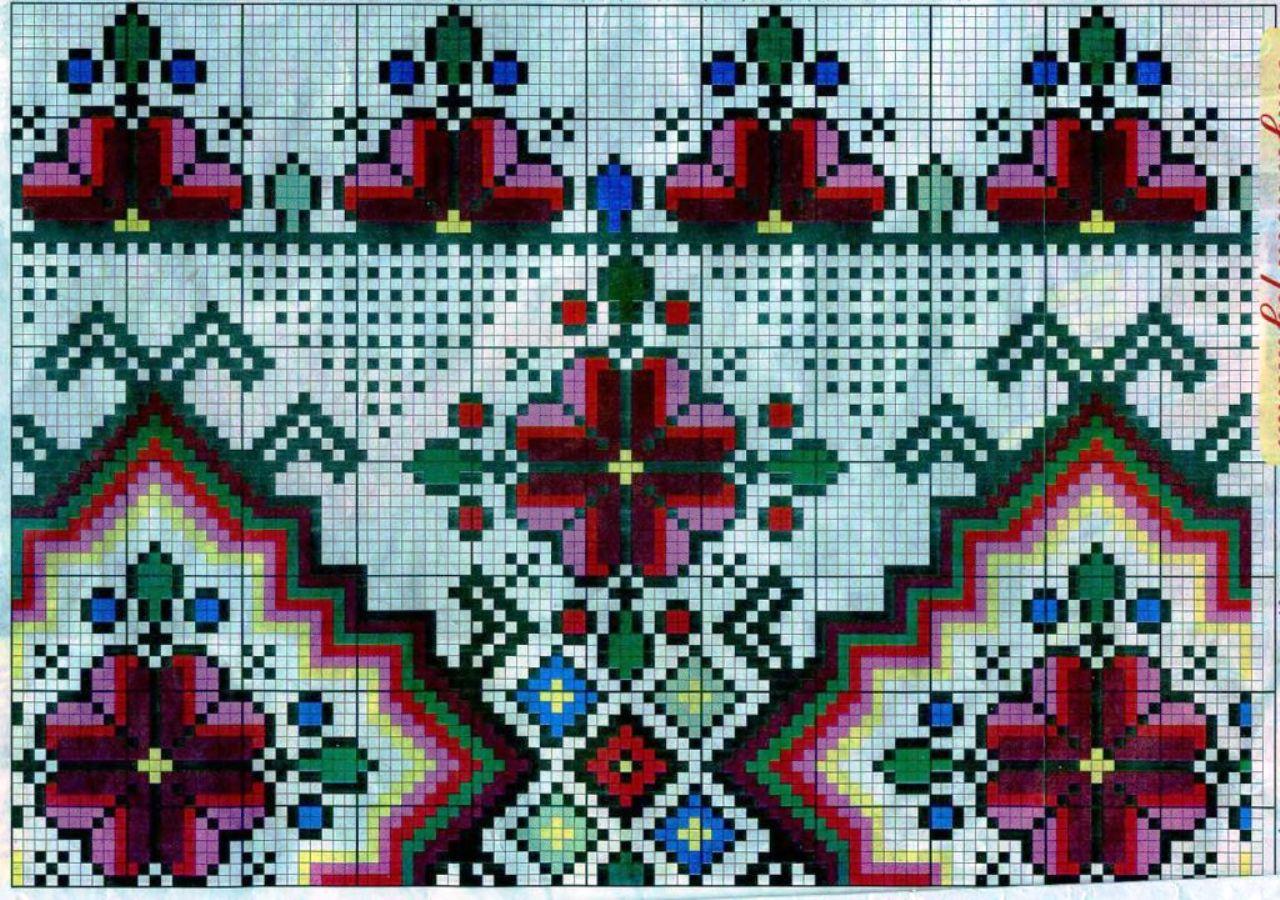 Рушник свадебный схема вышивки фото 443