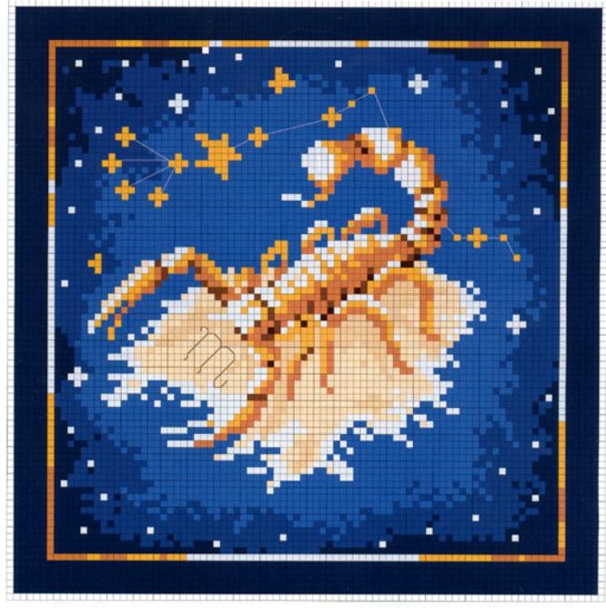 Схемы вышивания скорпиона
